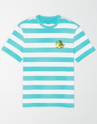 AE Полосатая футболка с коротким рукавом