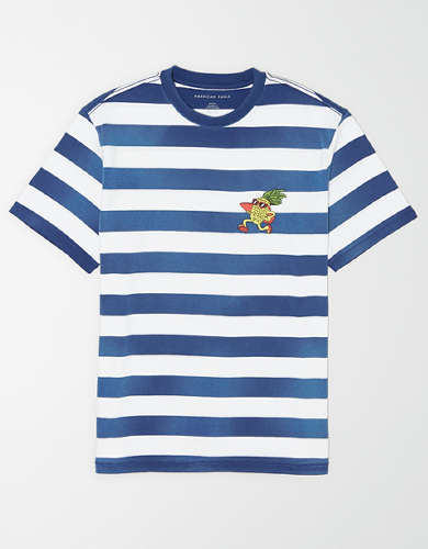 AE Short Sleeve Striped T-Shirt