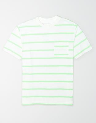 AE Striped Pocket T-Shirt