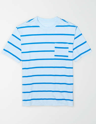 AE Striped Pocket T-Shirt