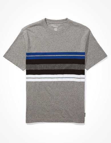 AE Super Soft Striped T-Shirt