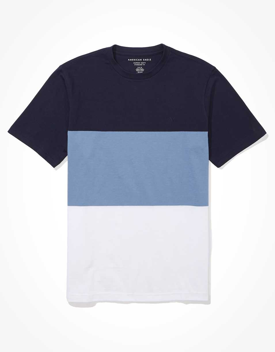 AE Super Soft Color-Block T-Shirt