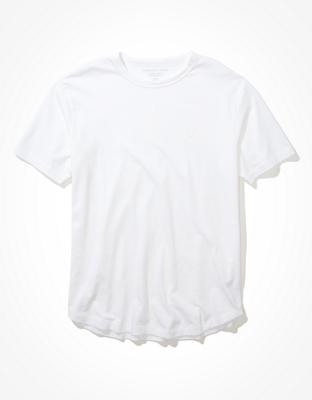 Фирменная футболка со скругленным низом AE Super Soft