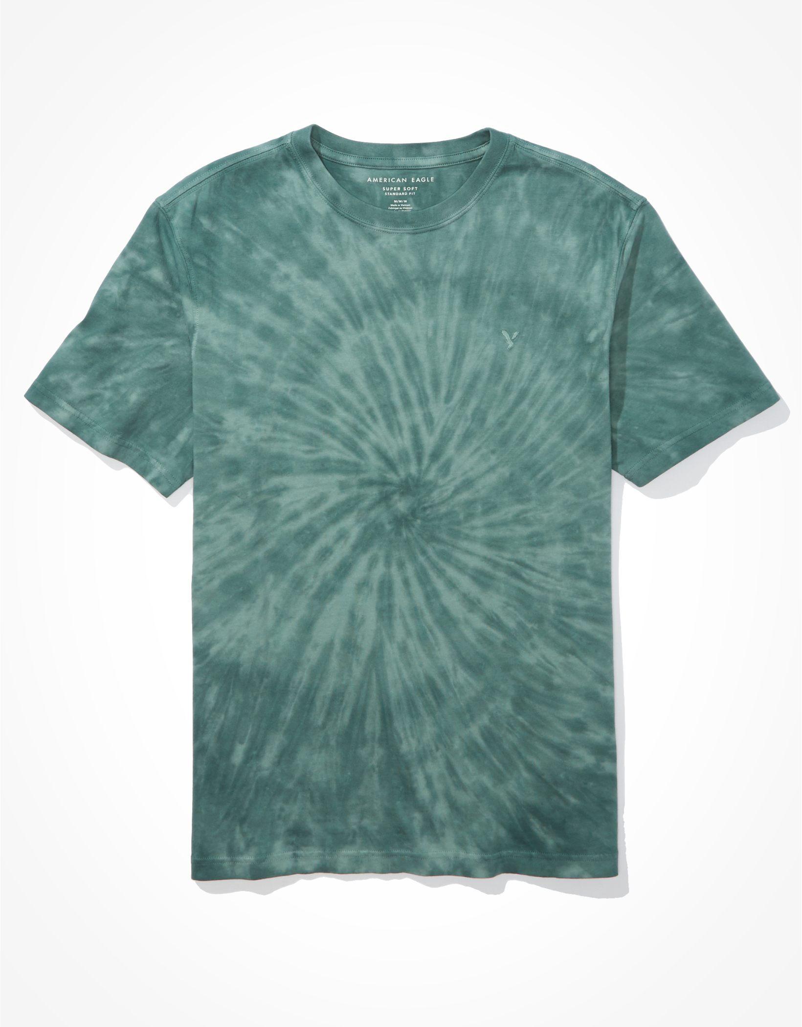 AE Super Soft Icon Tie-Dye T-Shirt