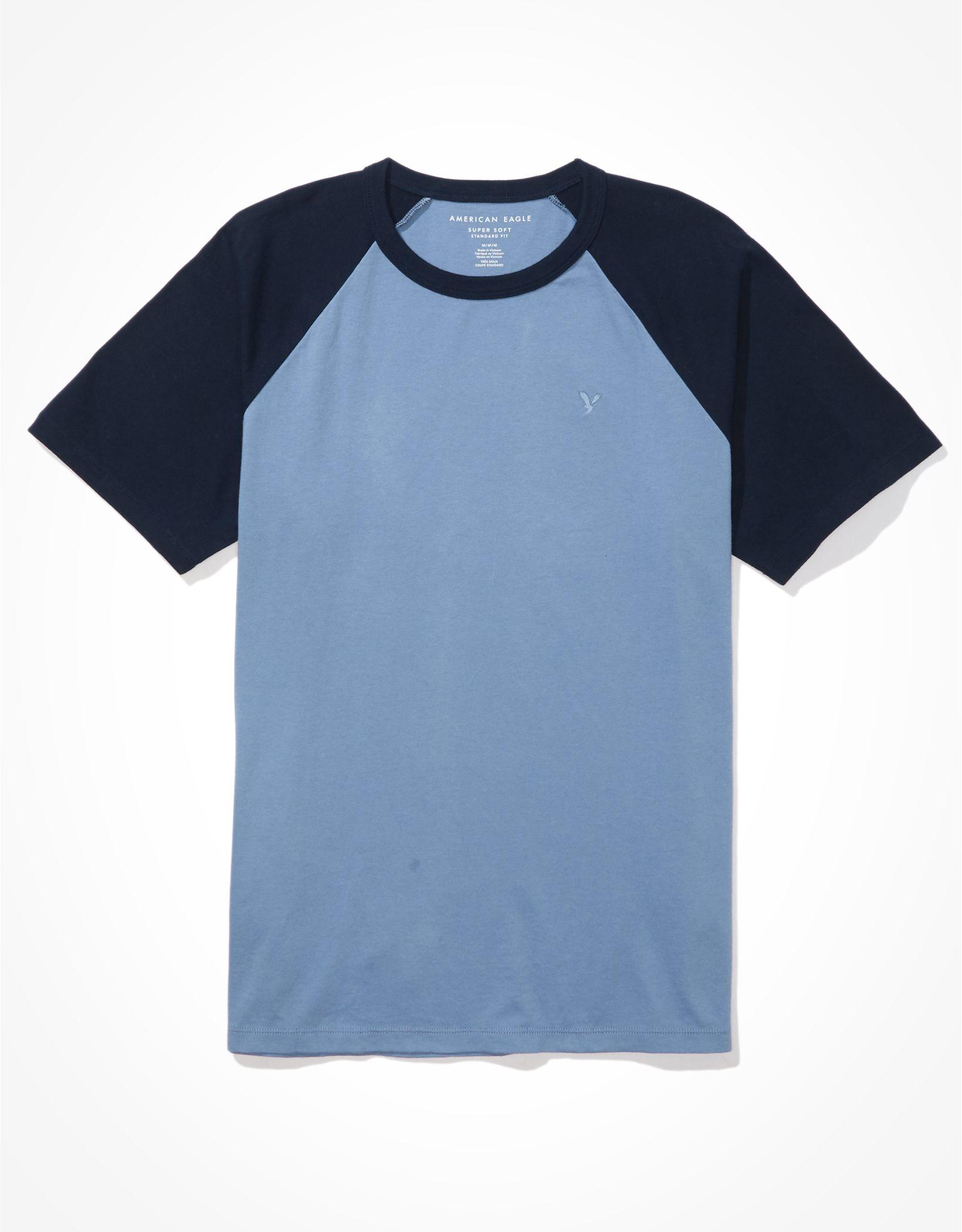 AE Super Soft Color-Block T-Shirt