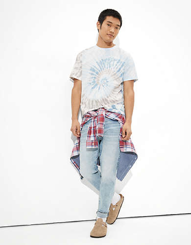 AE Super Soft Icon Tie-Dye T-Shirt