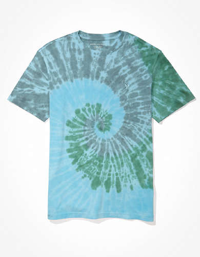 AE Super Soft Tie-Dye Icon T-Shirt