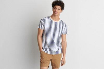 Flex Short Sleeve Stripe T-Shirt