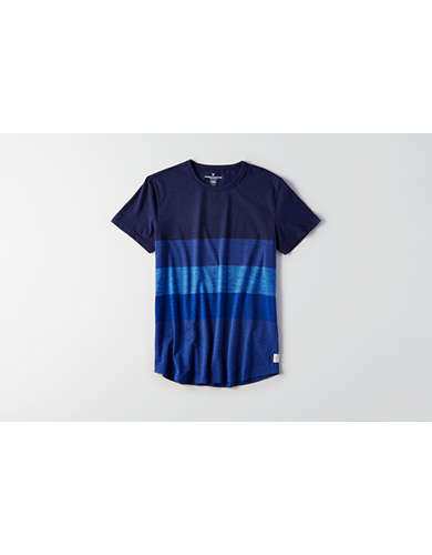 AEO Flex Rugby Stripe T-Shirt -