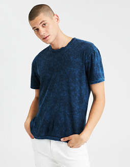 Ae Oversized Acid Washed Tee by American Eagle Outfitters
