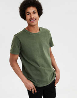 Ae Classic Soft Brushed Cotton Tee by American Eagle Outfitters