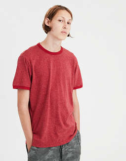 Ae Heather Ringer T Shirt by American Eagle Outfitters