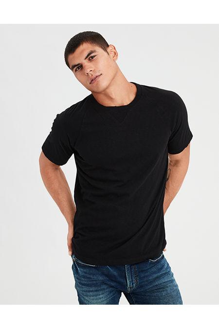 AE Distressed Raglan T-Shirt