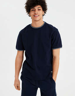Ae Short Sleeve Ringer T Shirt by American Eagle Outfitters