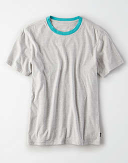 AE Short Sleeve Heathered Ringer t-shirt