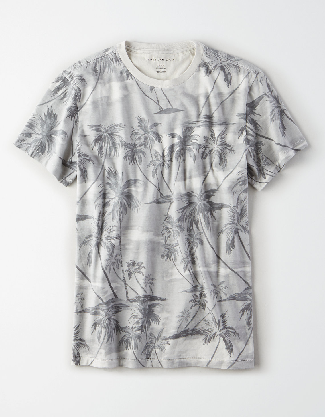 AE Tropical Print T-Shirt
