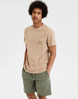 Ae Graphic Pocket Tee by American Eagle Outfitters