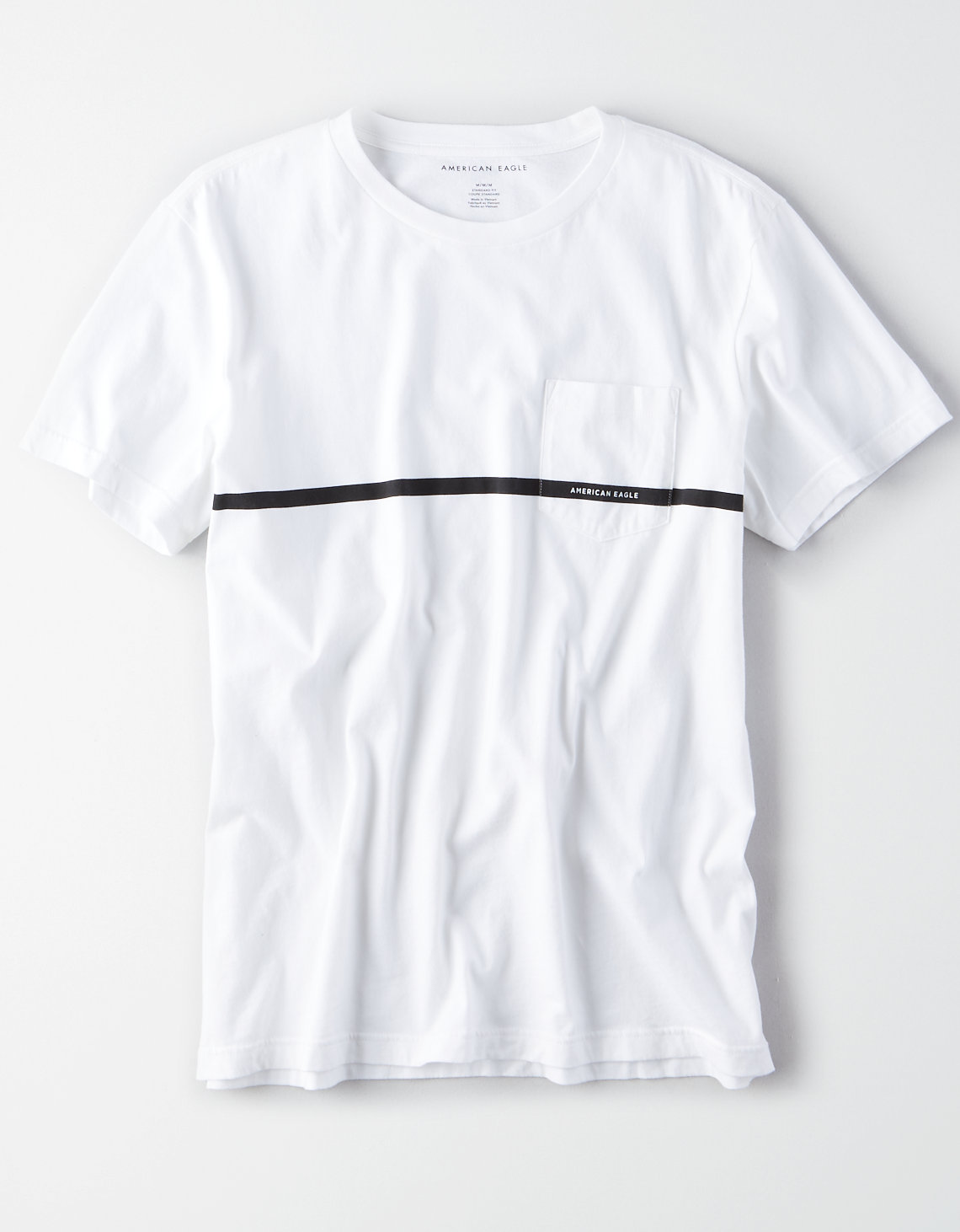 AE Short Sleeve Logo Pocket T-Shirt