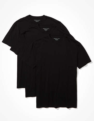 AE 3-Pack Short-Sleeve Eagle T-Shirt