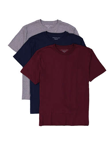 AE Super Soft Icon T-Shirt 3-Pack