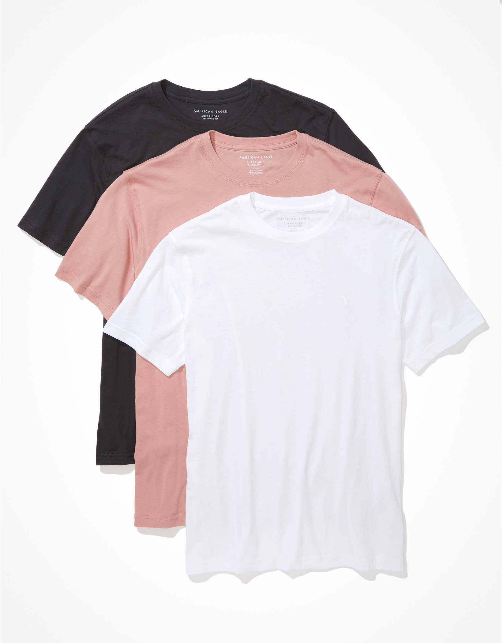 AE Super Soft T-Shirt 3-Pack