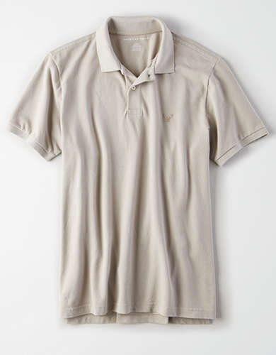 AE Slim Fit Pique Polo Shirt
