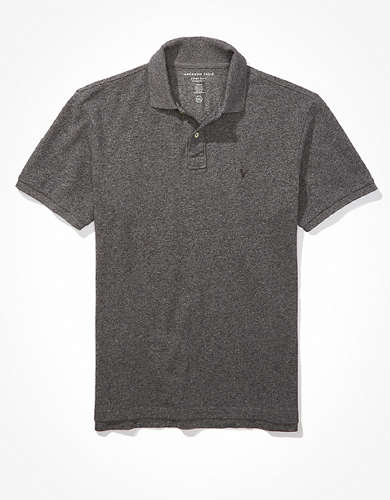 AE Super Soft Icon Heathered Polo Shirt