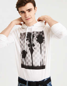 Ae Graphic Hoodie T Shirt by American Eagle Outfitters
