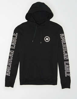 AE Reflective Graphic Hoodie Tee