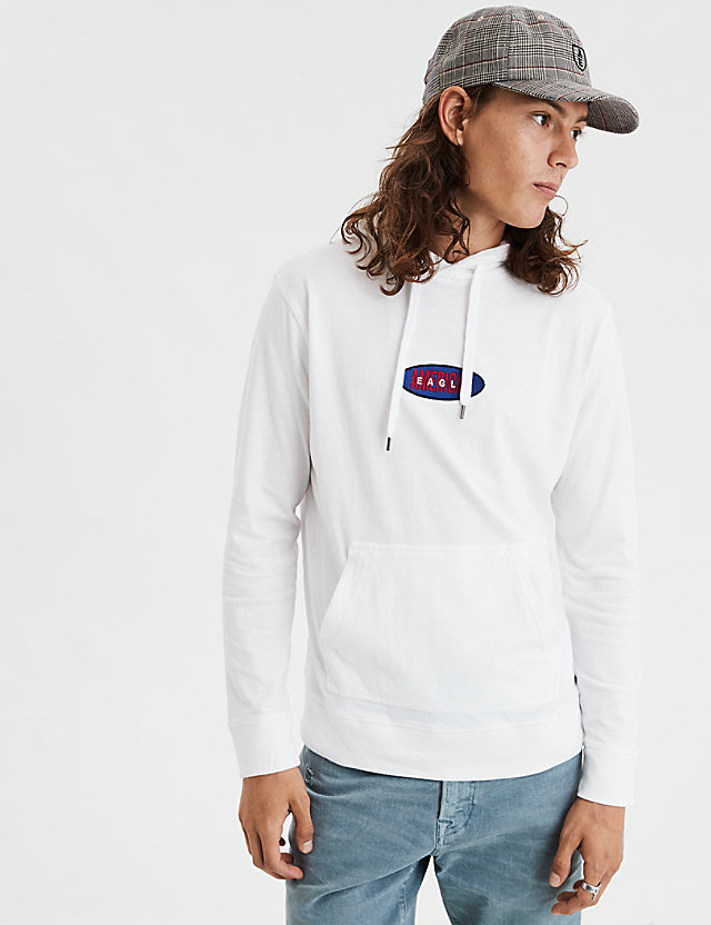 AE Embroidered Graphic Hoodie Tee