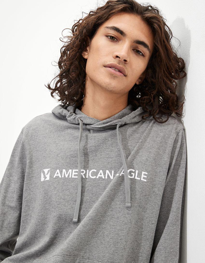 AE Super Soft Graphic Hoodie Tee
