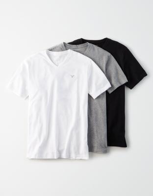 AE Набор из 3 футболок с V-образным вырезом