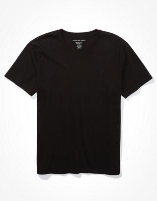 Супермягкая культовая футболка с V-образным вырезом AE