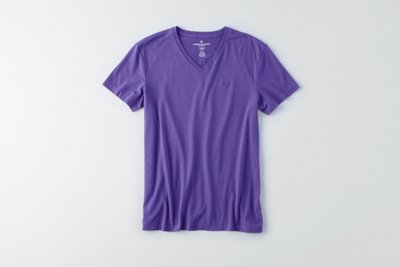 Flex Solid V-Neck T-Shirt