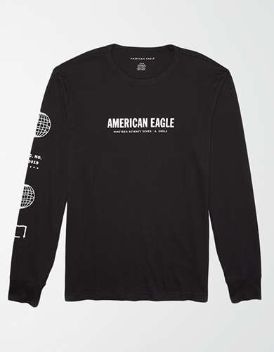 AE Long Sleeve Graphic T-Shirt