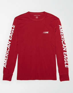 4ddf22346be placeholder image AE Long Sleeve Graphic T-Shirt ...