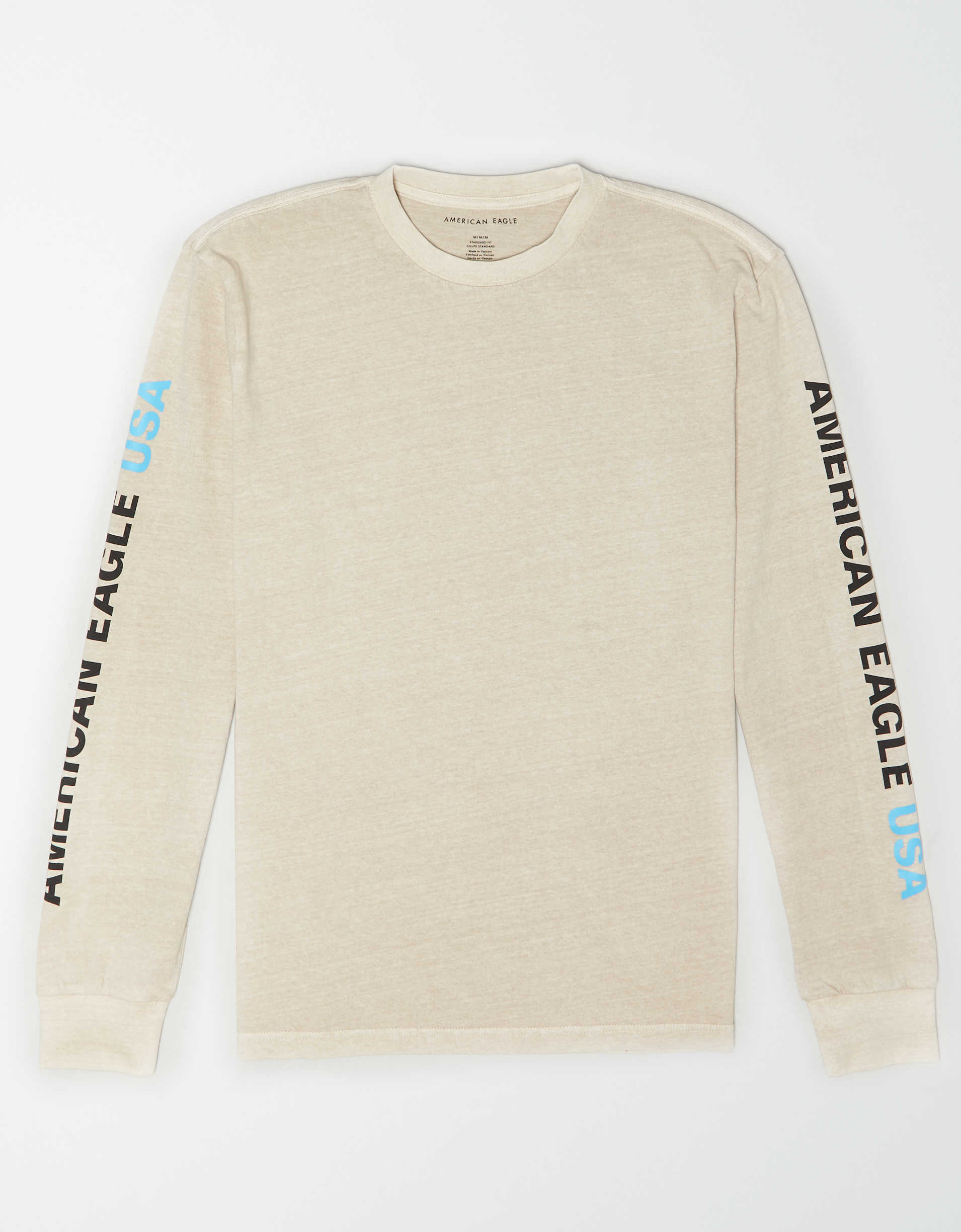 AE Vintage Wash Long-Sleeve Graphic T-Shirt