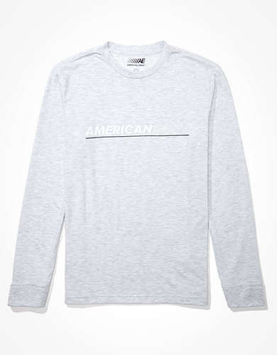AE Active 24/7 Long-Sleeve Graphic T-Shirt
