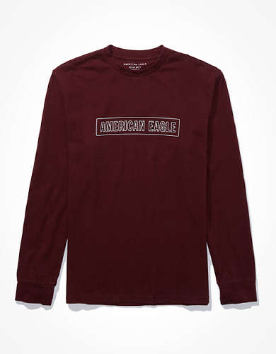 AE Super Soft Long Sleeve Graphic T-Shirt