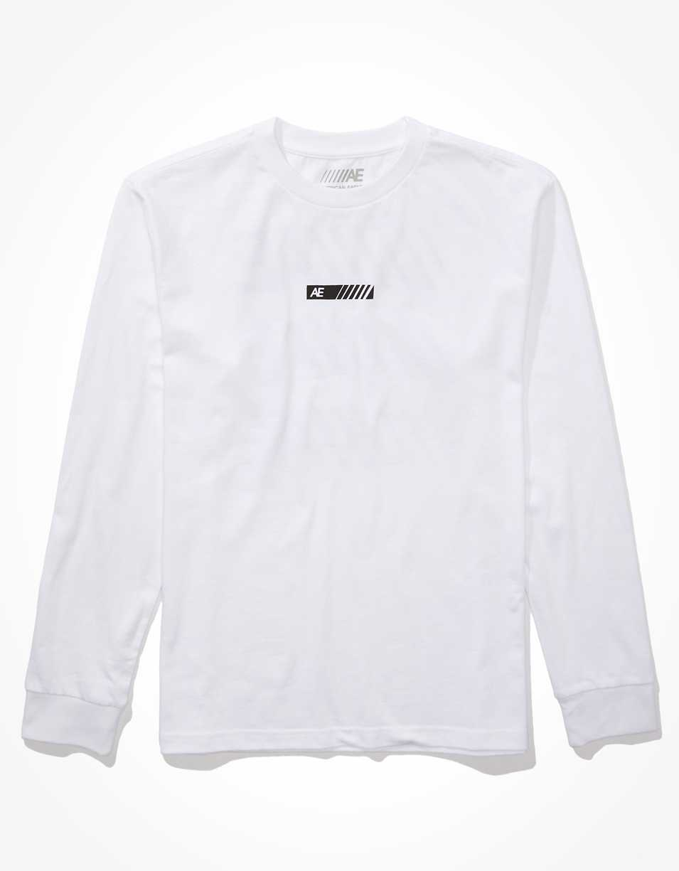 AE Super Soft Long Sleeve Graphic T-Shirt | American Eagle