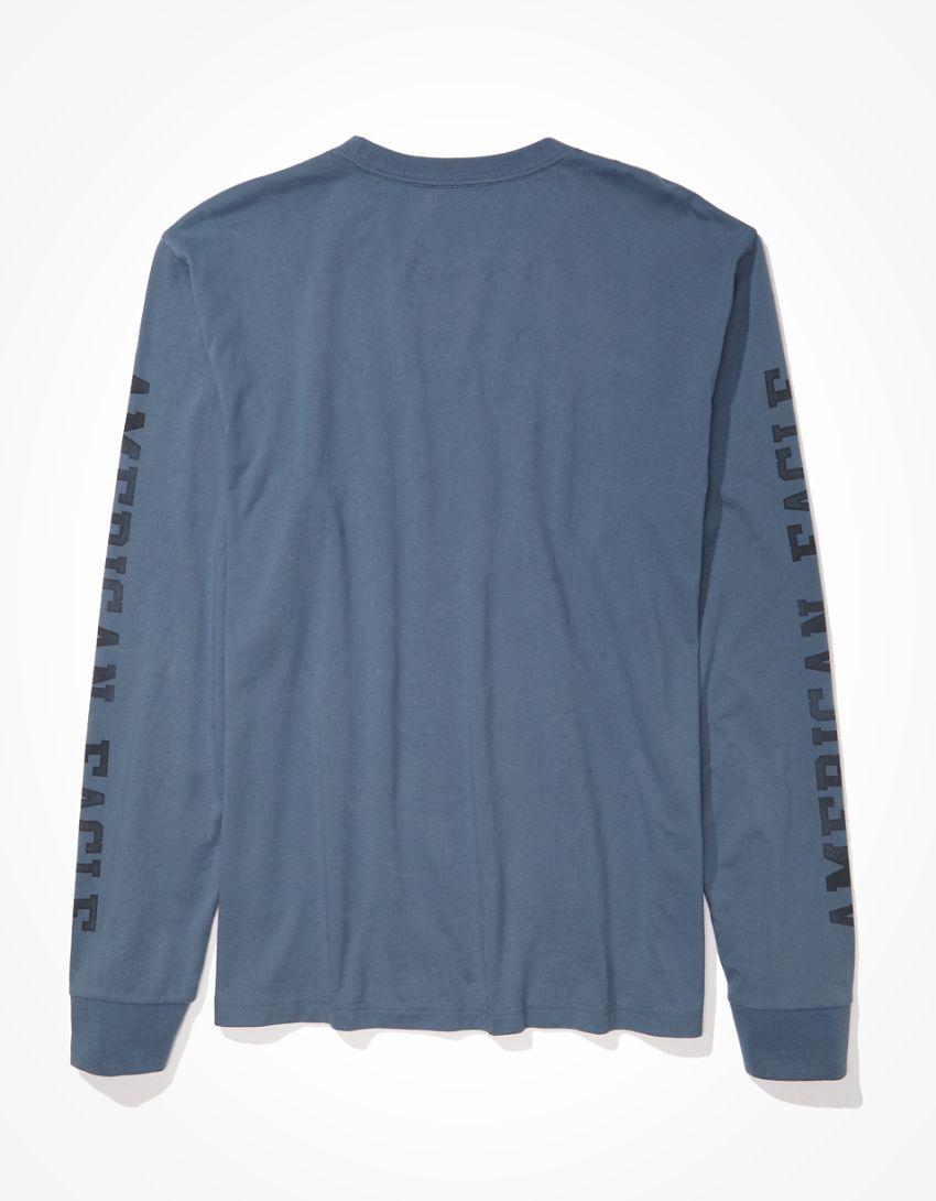 AE Super Soft Long-Sleeve Graphic T-Shirt