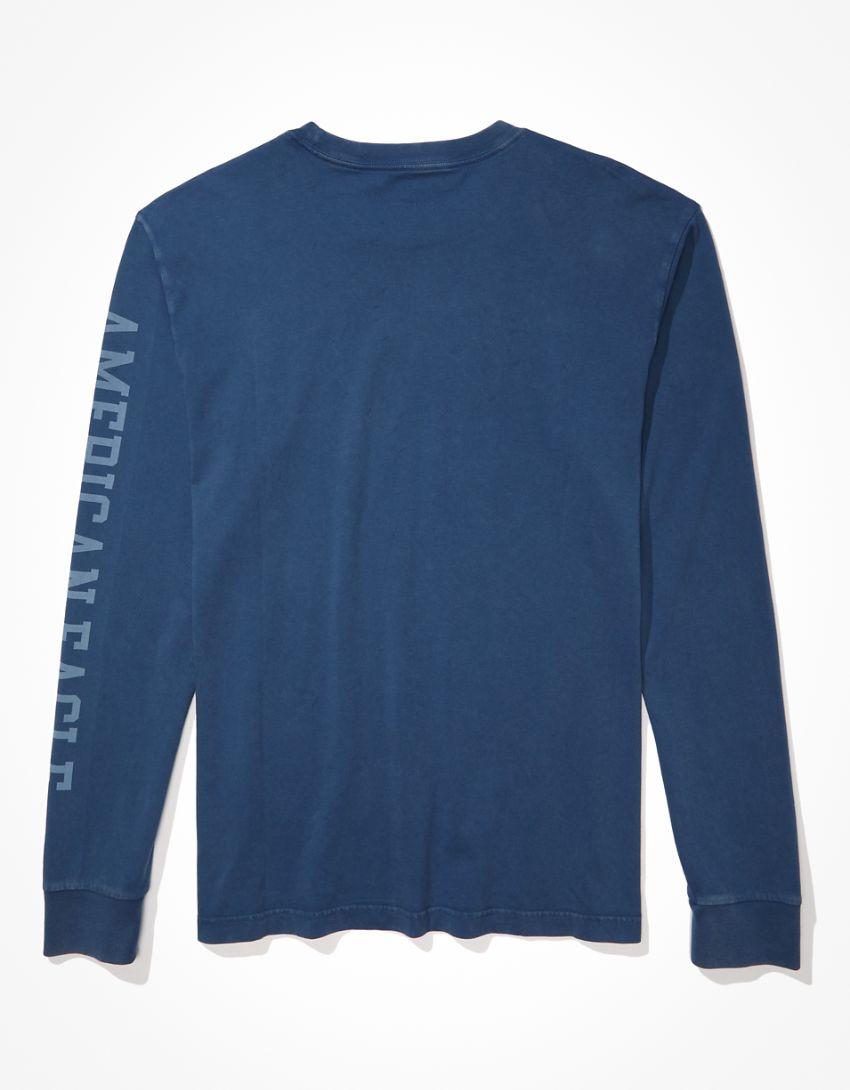 AE X Peanuts Super Soft Long-Sleeve Graphic T-Shirt