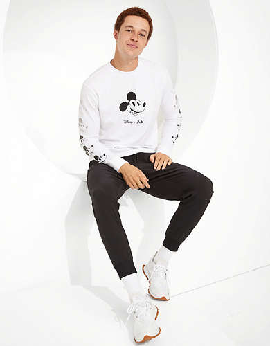 Disney X AE Graphic Long Sleeve T-Shirt