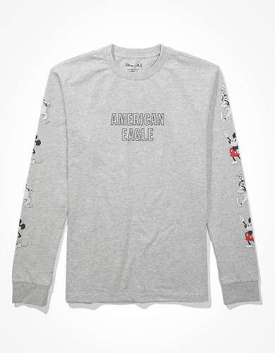 Disney X AE Long-Sleeve Graphic T-Shirt