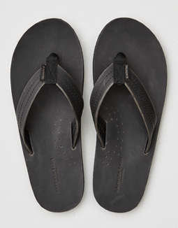 AEO Leather Flip Flop