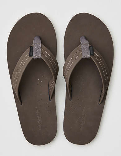 AE Leather Flip Flop