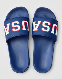 AEO USA Slide Sandal