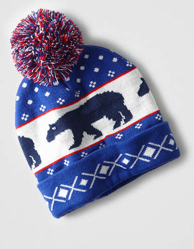 Light Up Bear Beanie -