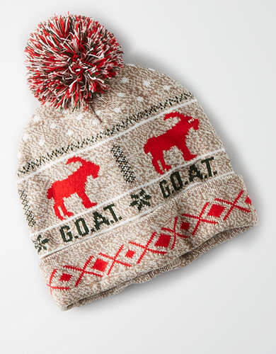Light Up Goat Beanie -