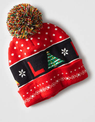 Light Up Fa La La Beanie -